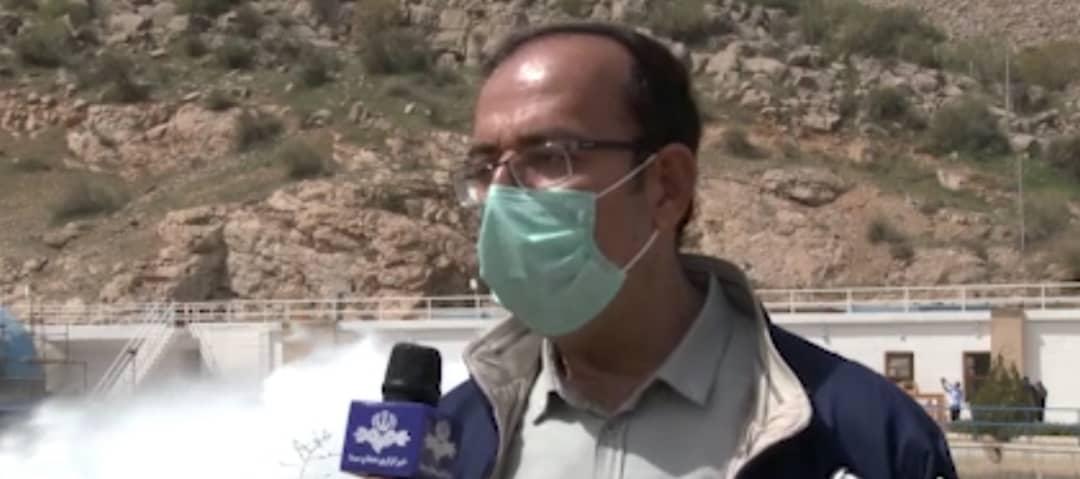 مدیرعامل شرکت آب منطقه ای فارس با حضور در محل  سد درودزن بطور مستقیم بر آغاز  رهاسازی  آب  برای کشاورزان پایین دست  نظارت کرد .