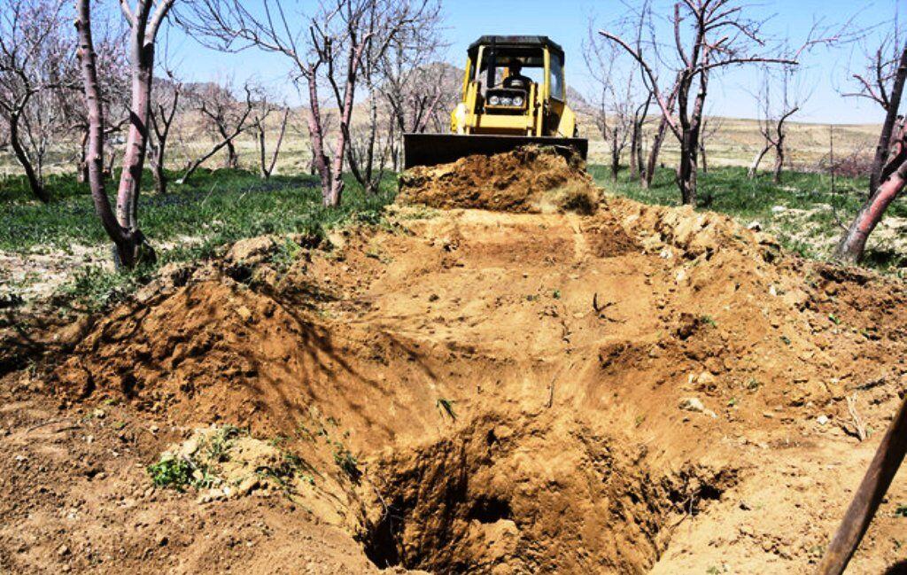 انسداد۱۲ حلقه چاه غیرمجاز در سپیدان از ابتدای امسال